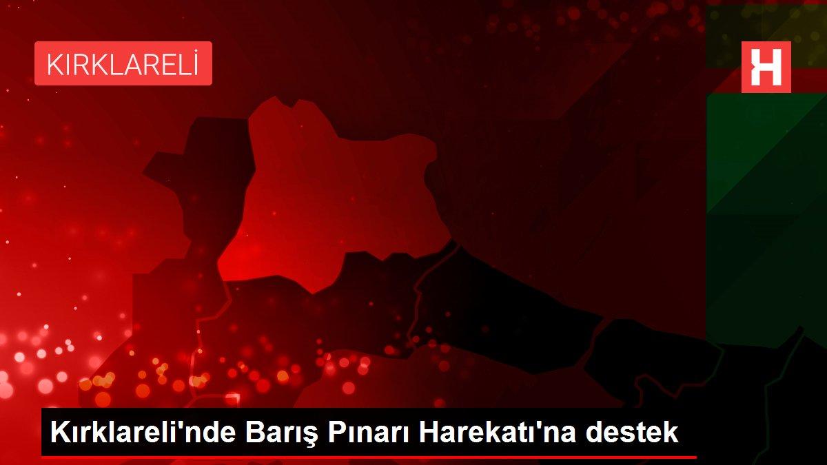 Kırklareli'nde Barış Pınarı Harekatı'na destek