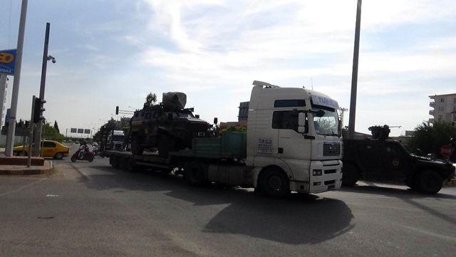 Suriye'ye Polis Özel Hareket takviyesi