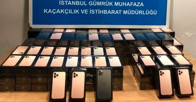 Havalimanında 179 adet kaçak cep telefonu ele geçirildi! Tanesi 14 bin lira