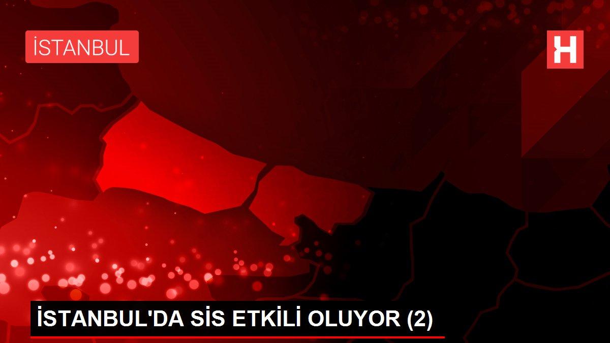 İSTANBUL'DA SİS ETKİLİ OLUYOR (2)