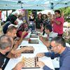 Mersin'de görme engellilere sesli satranç kitabı
