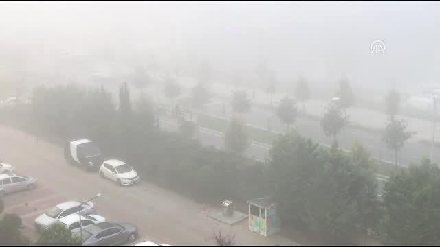 Yoğun sis hayatı olumsuz etkiledi (2)