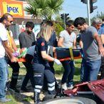 Didim'de trafik kazası: 1 yaralı