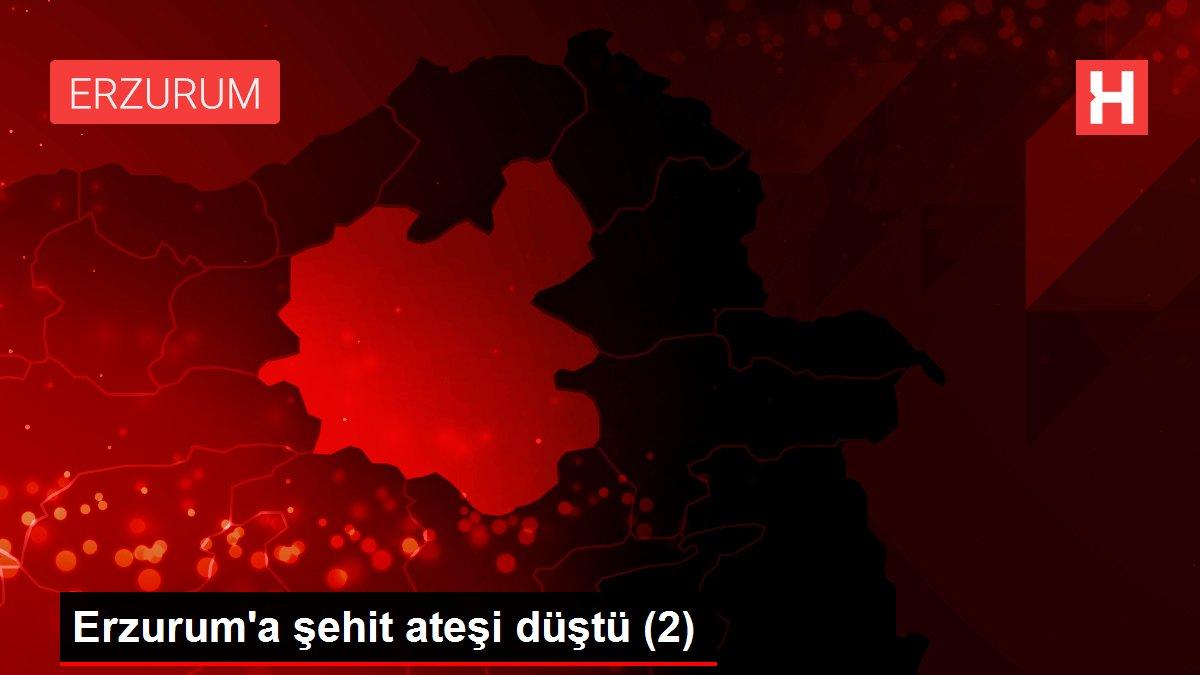 Erzurum'a şehit ateşi düştü (2)