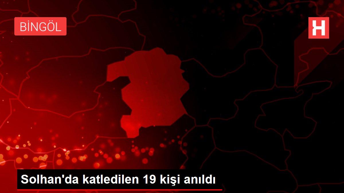 Solhan'da katledilen 19 kişi anıldı