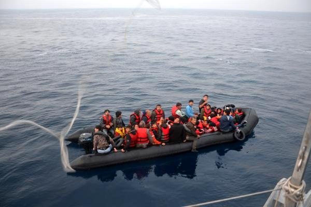 Çanakkale'de 53'üçocuk, 101kaçak göçmen yakalandı