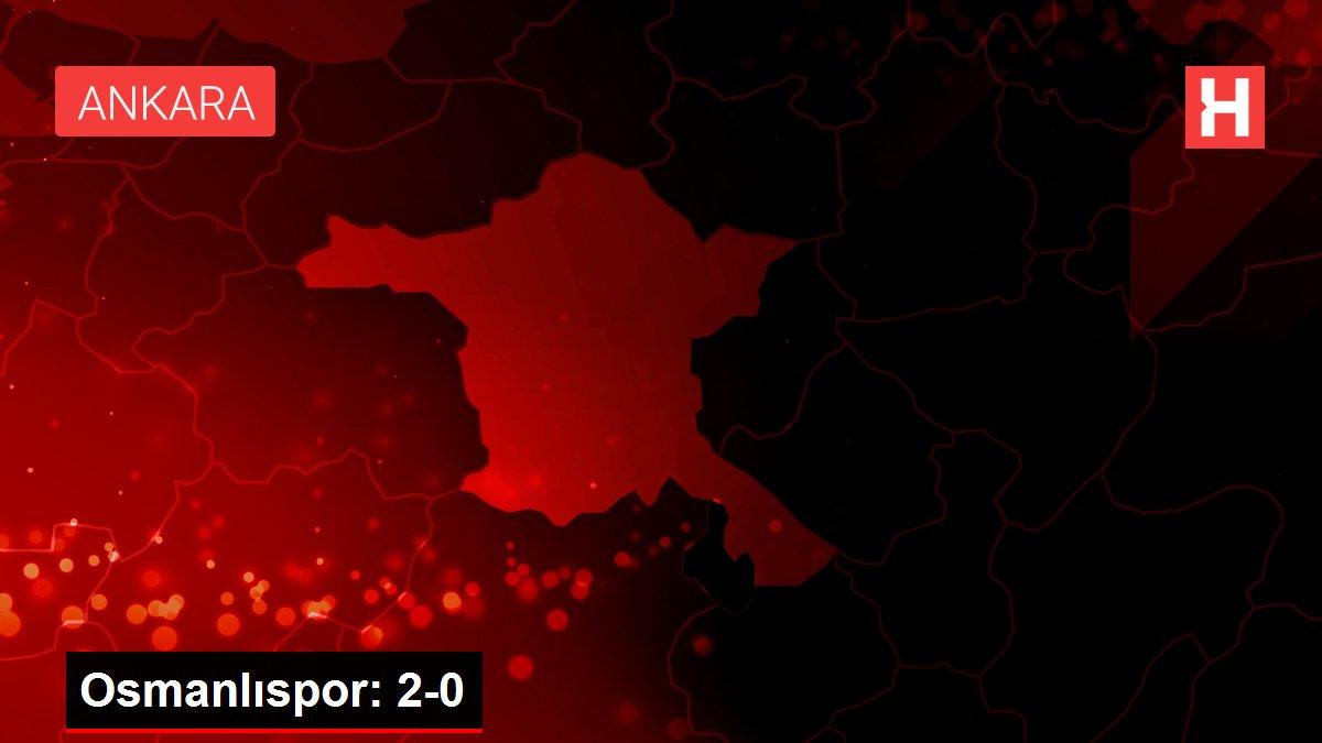 Osmanlıspor: 2-0