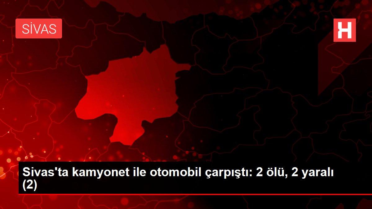 Sivas'ta kamyonet ile otomobil çarpıştı: 2 ölü, 2 yaralı (2)