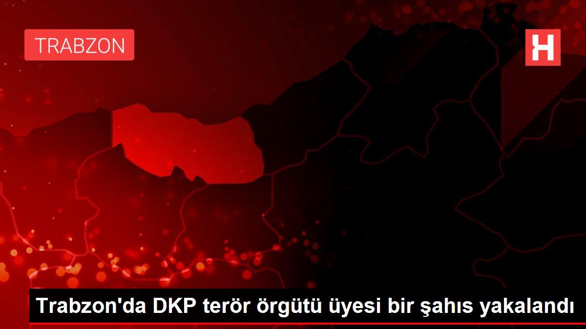 Trabzon'da DKP terör örgütü üyesi bir şahıs yakalandı