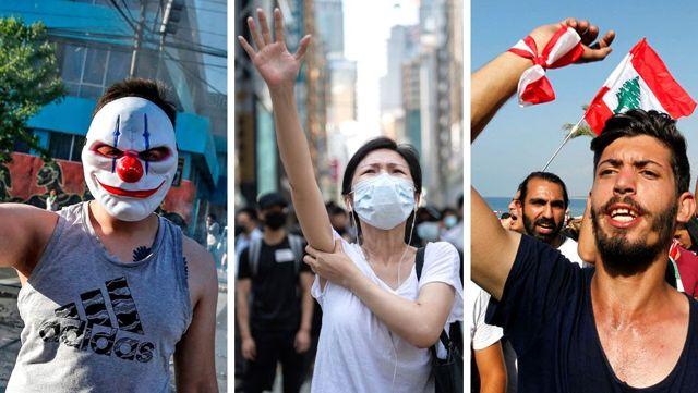 Farklı ülkelerde devam eden protestoların ortak noktaları var mı?