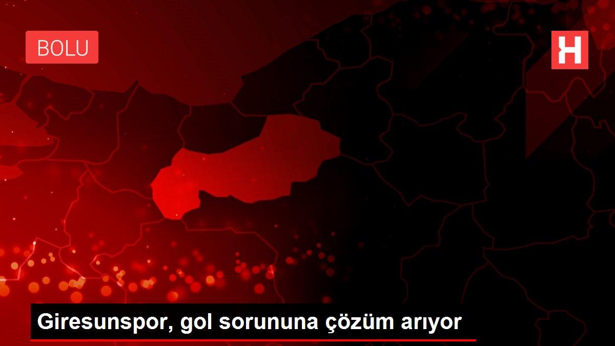 Giresunspor, gol sorununa çözüm arıyor