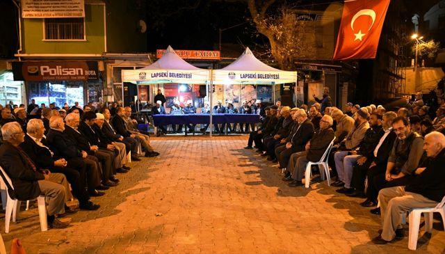 Lapsekili avcılar Barış Pınarı Harekatı şehitleri için mevlit okuttu