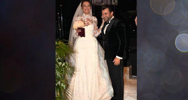 250 binlik gelinlik düğüne damgasını vurdu