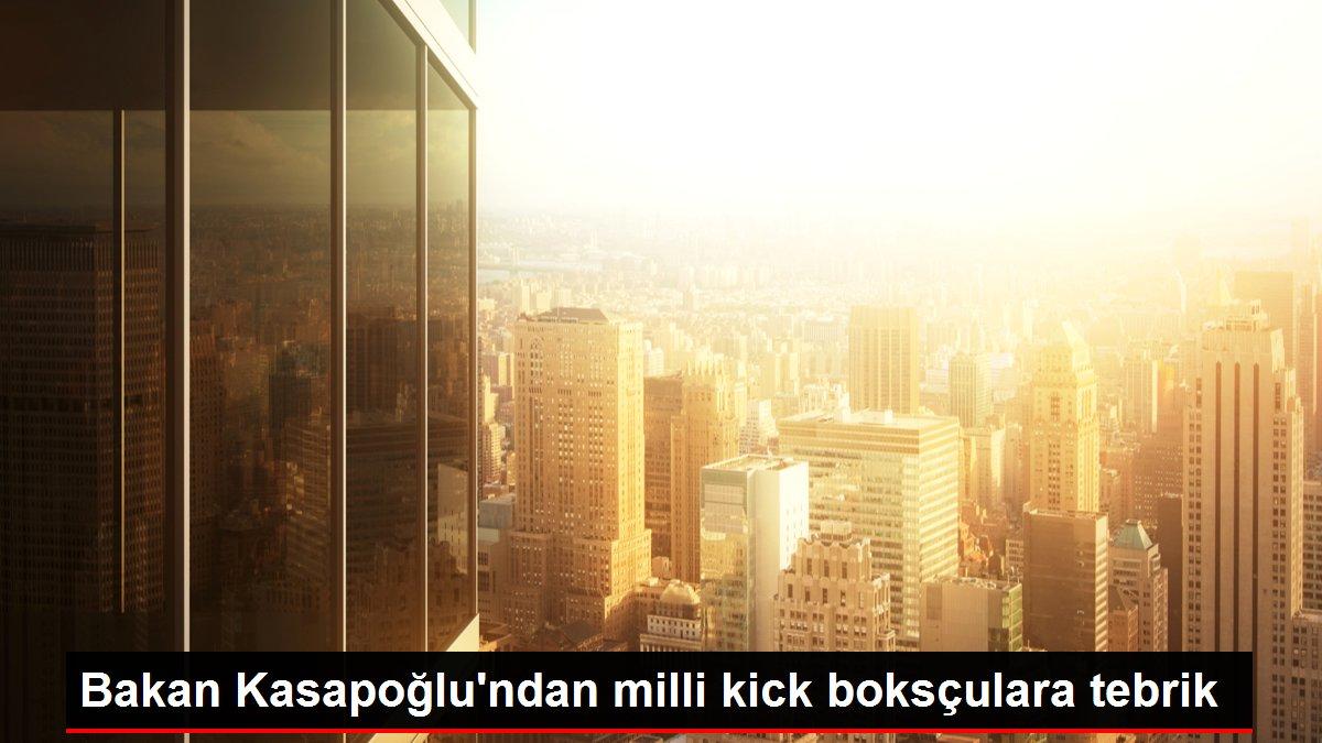 Bakan Kasapoğlu'ndan milli kick boksçulara tebrik