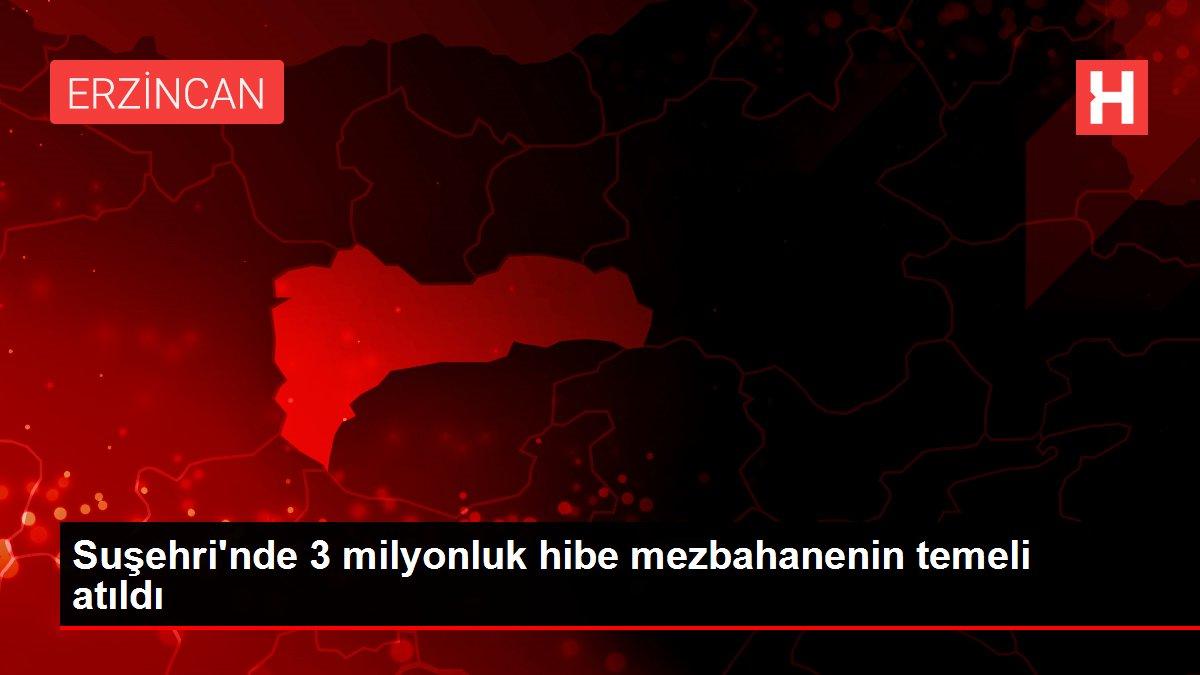 Suşehri'nde 3 milyonluk hibe mezbahanenin temeli atıldı
