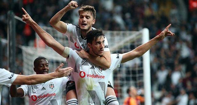 Beşiktaş, Galatasaray'ı 1-0 yendi!