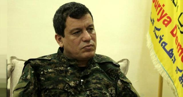 YPG'li terörist Mazlum Kobani'nin kırmızı bülten dosyası ortaya çıktı