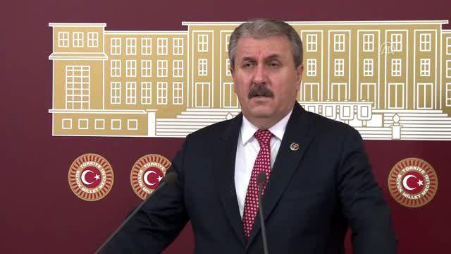 BBP Genel Başkanı Mustafa Destici (2) - TBMM