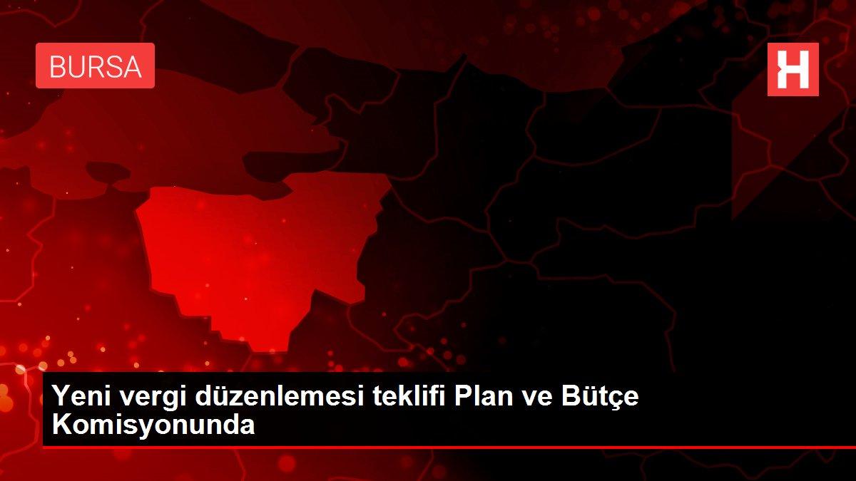 Yeni vergi düzenlemesi teklifi Plan ve Bütçe Komisyonunda