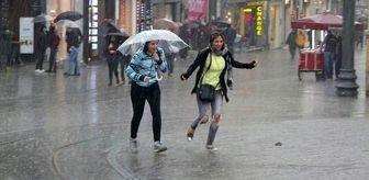 Meteoroloji İstanbul için saat verip uyardı: Kuvvetli sağanak yağış geliyor