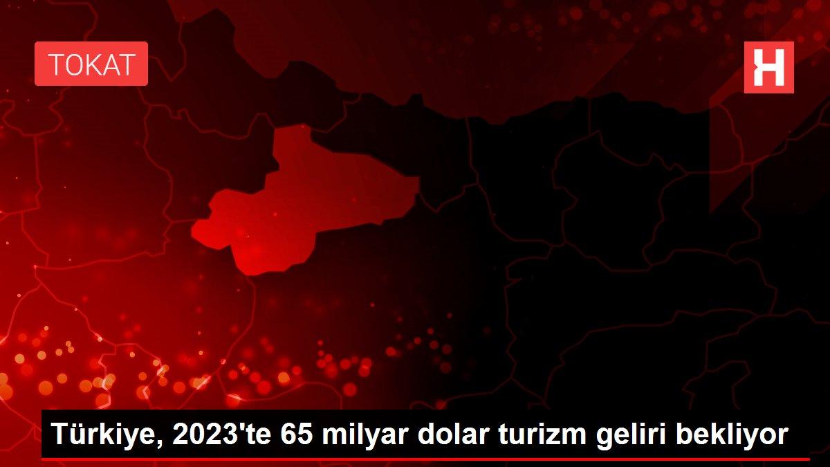Türkiye, 2023'te 65 milyar dolar turizm geliri bekliyor