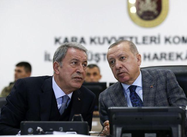 Cumhurbaşkanı Erdoğan Barış Pınarı Harekatı ile ilgili brifing aldı