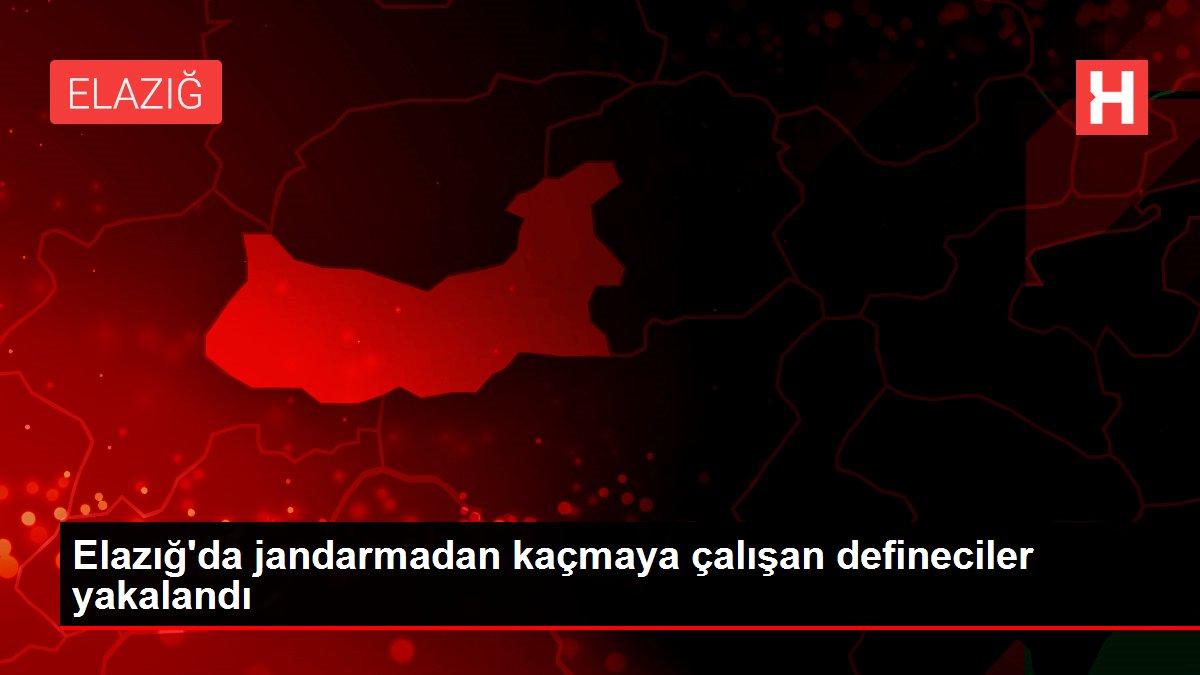 Elazığ'da jandarmadan kaçmaya çalışan defineciler yakalandı