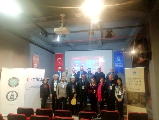 Bursa'da Türk Dünyası Müzikleri Çalıştayı ve Konseri Gerçekleştirildi