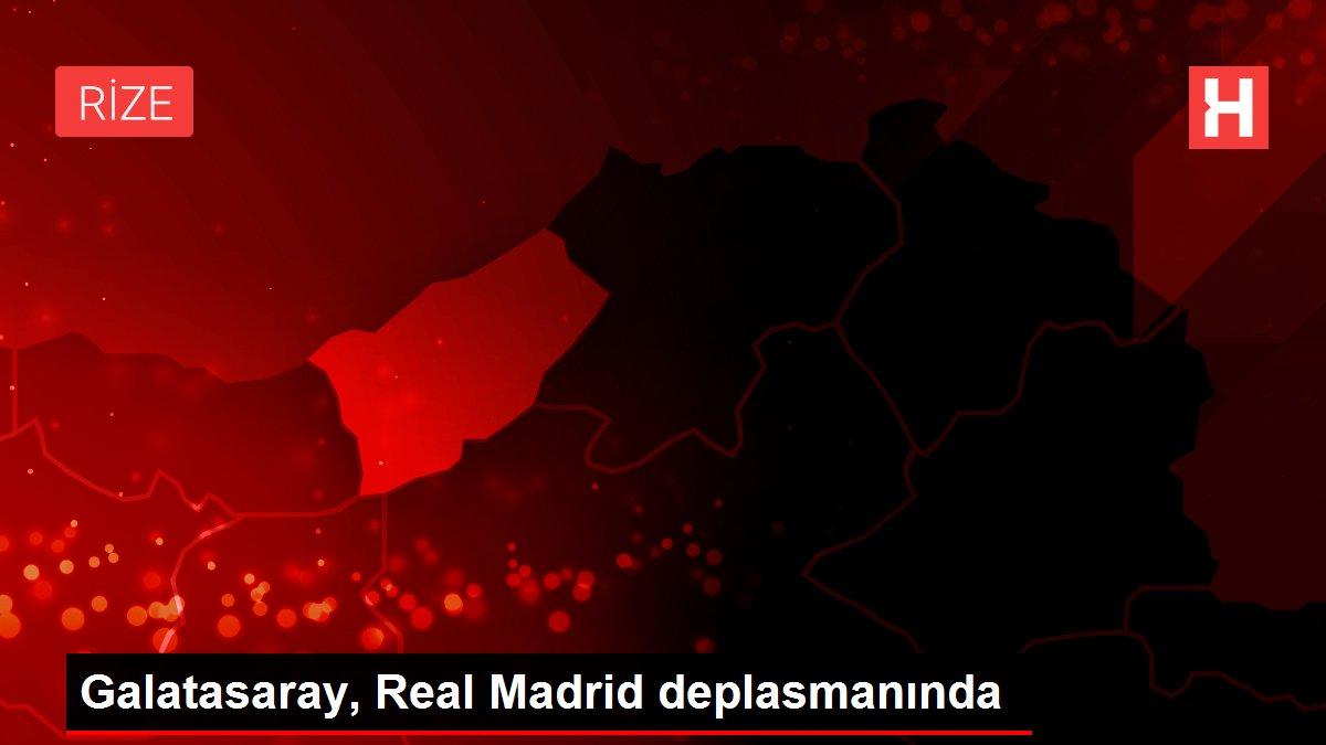 Galatasaray, Real Madrid deplasmanında