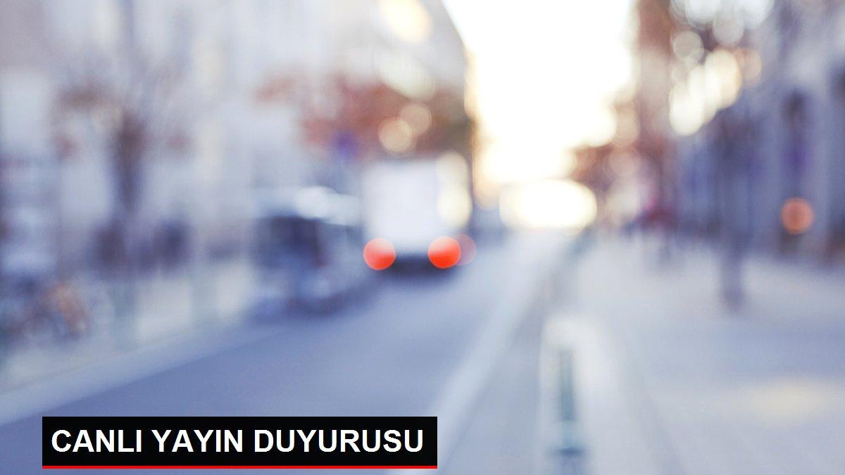 CANLI YAYIN DUYURUSU
