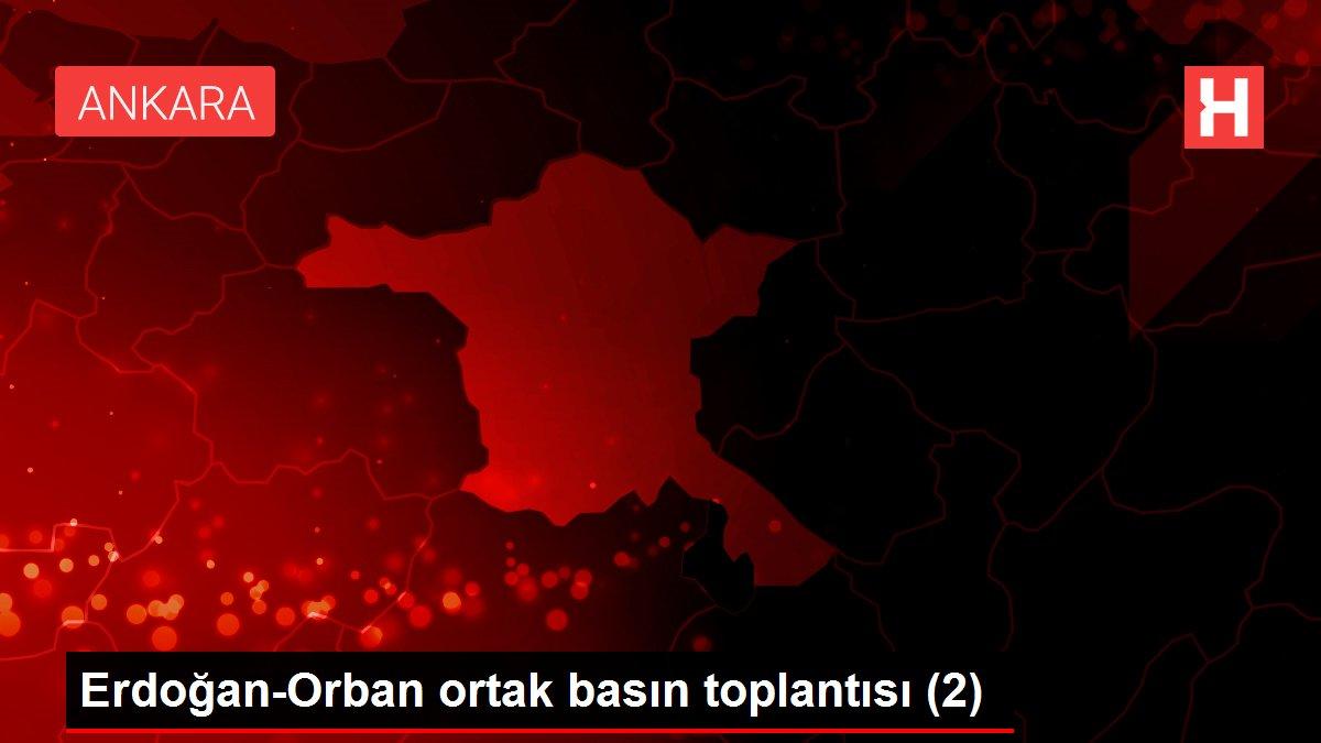 Erdoğan-Orban ortak basın toplantısı (2)