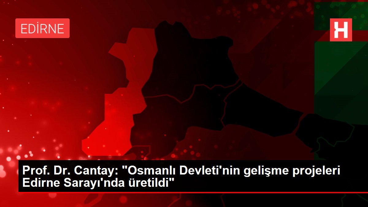 Prof. Dr. Cantay: