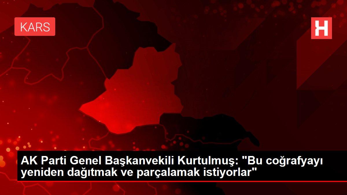 AK Parti Genel Başkanvekili Kurtulmuş: