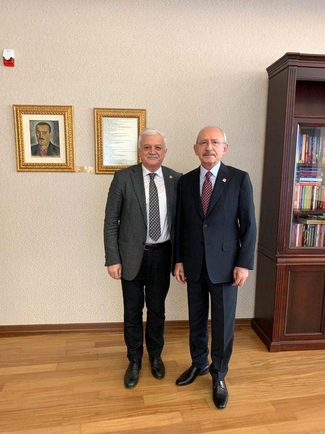 Başkan Deveciler Kılıçdaroğlu'nu ziyaret etti