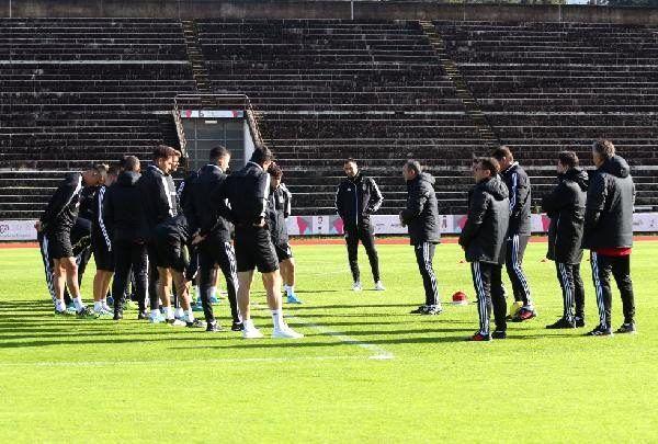 Beşiktaş, Denizlispor maçı hazırlıklarına Portekiz'de başladı