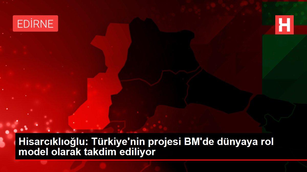 Hisarcıklıoğlu: Türkiye'nin projesi BM'de dünyaya rol model olarak takdim ediliyor