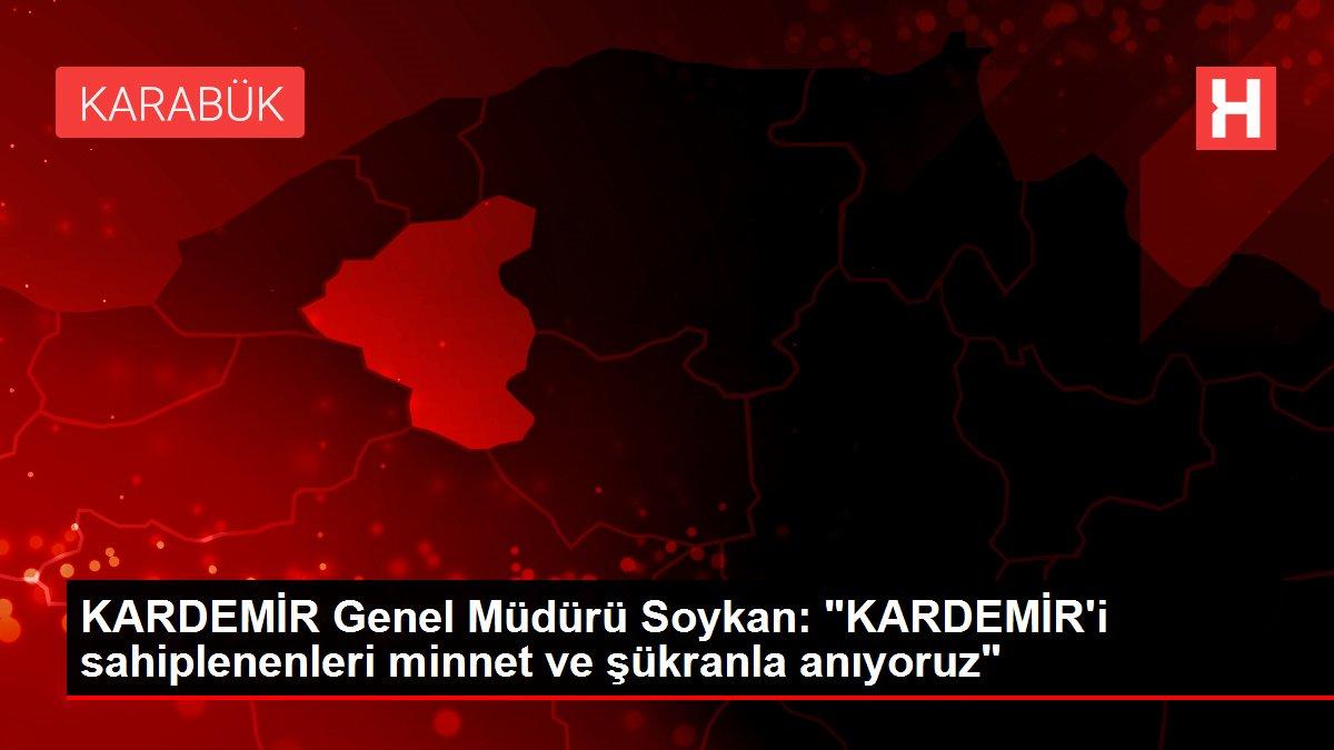 KARDEMİR Genel Müdürü Soykan: