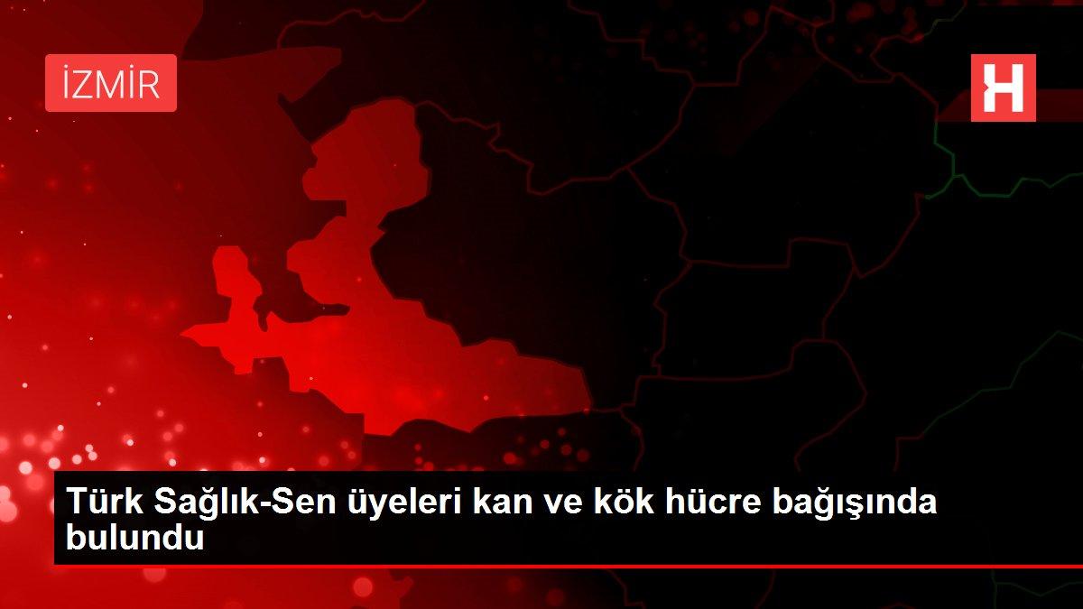 Türk Sağlık-Sen üyeleri kan ve kök hücre bağışında bulundu