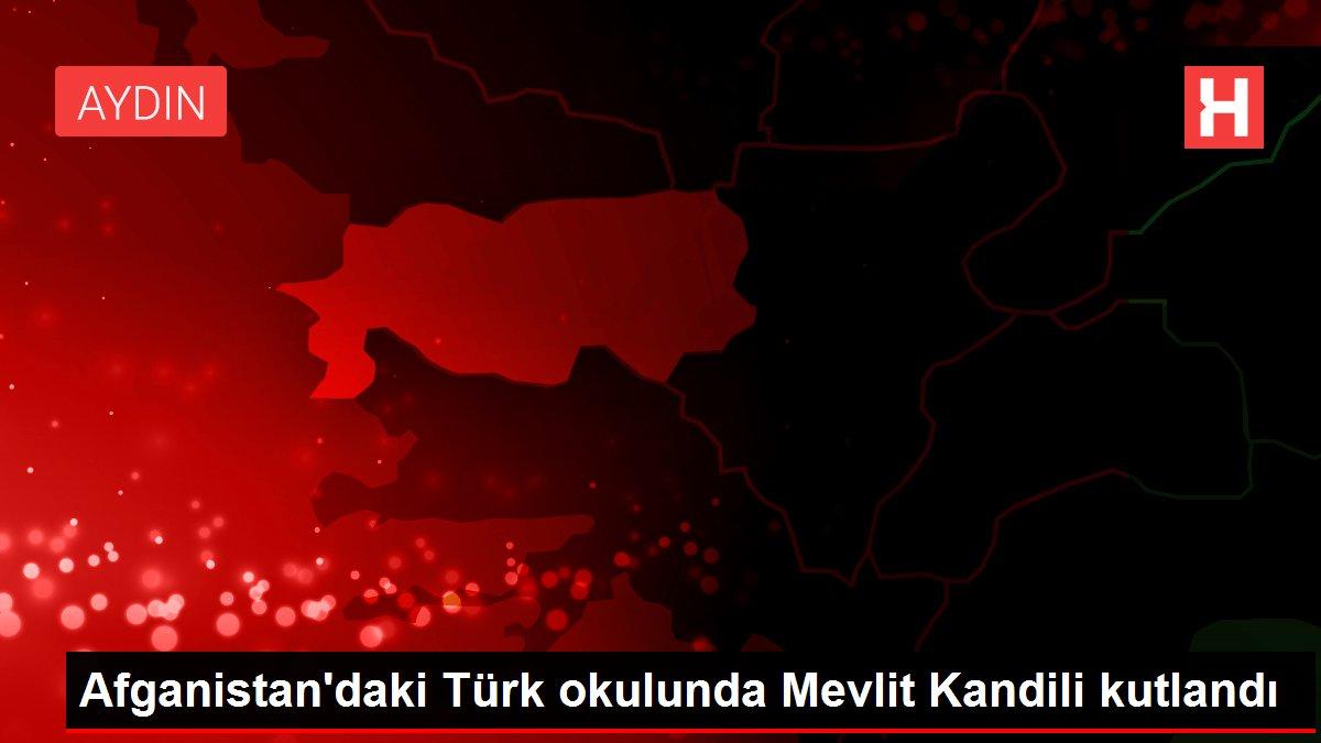 Afganistan'daki Türk okulunda Mevlit Kandili kutlandı