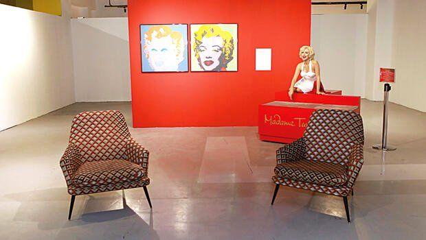 Andy Warhol ve arkadaşlarıyla bir çağdaş sanat ziyafeti