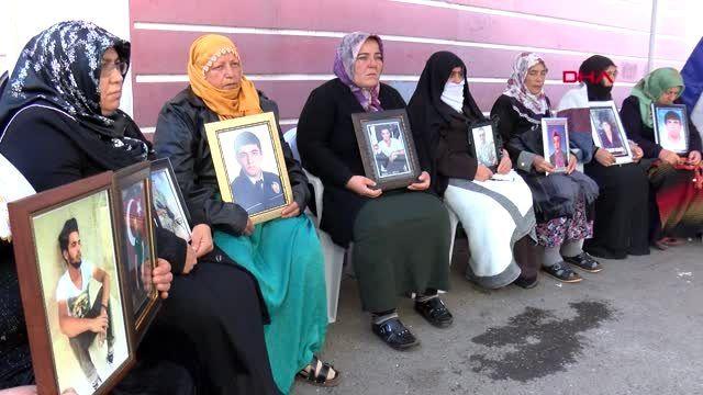 Diyarbakır hdp önündeki eylemde 68'inci gün
