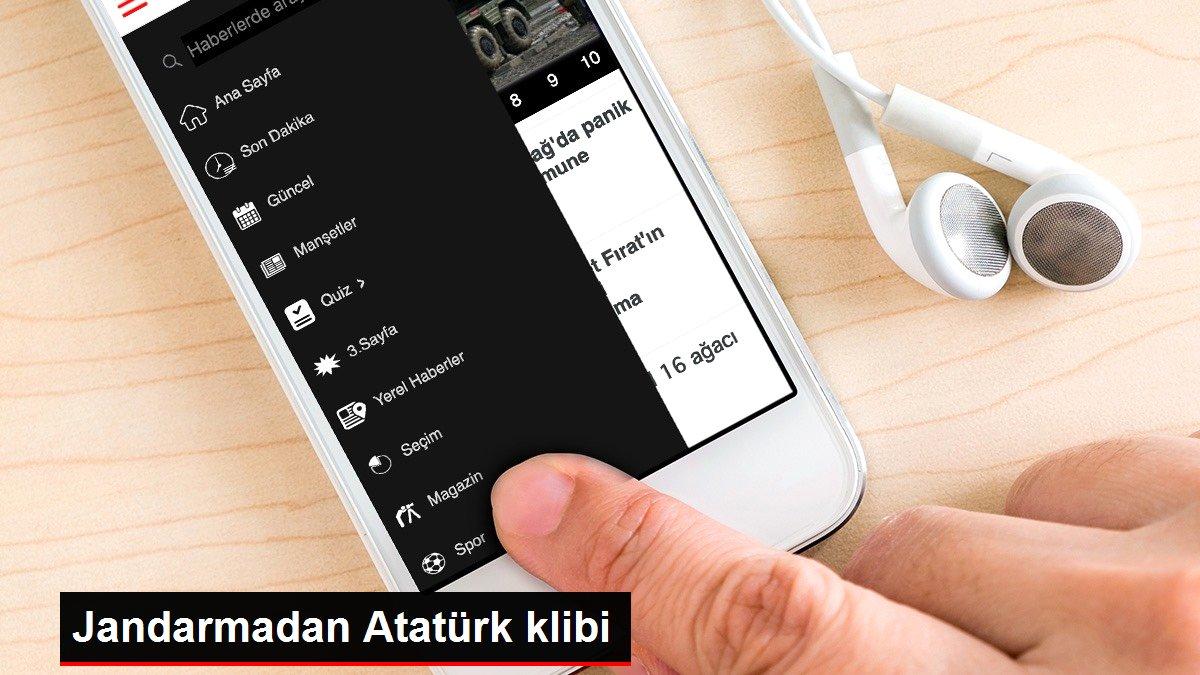 Jandarmadan Atatürk klibi