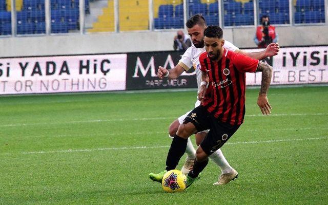 Süper Lig: Gençlerbirliği: 1  - İstikbal Mobilya Kayserispor: 0 (İlk yarı)