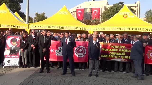 Atatürk, ebediyete intikalinin 81. yıl dönümünde anıldı
