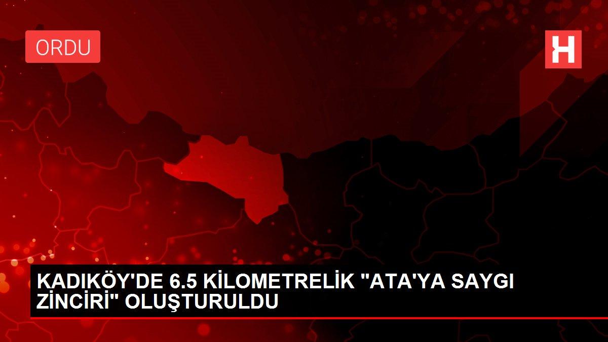 KADIKÖY'DE 6.5 KİLOMETRELİK