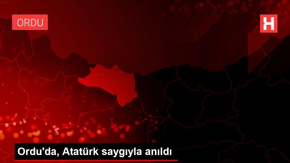 Ordu'da, Atatürk saygıyla anıldı
