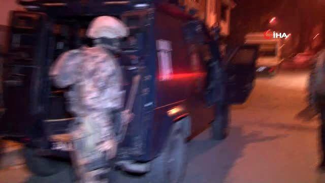 Başakşehir'de uyuşturucu operasyonu çok sayıda gözaltı
