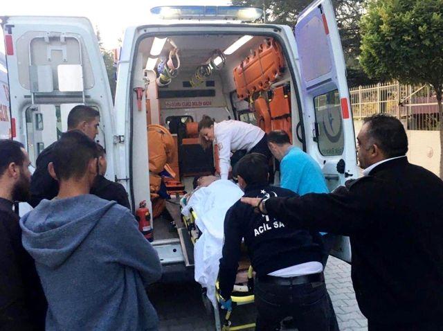 Misafirliğe giden 12 yaşındaki çocuk 3. kattan düşüp yaralandı