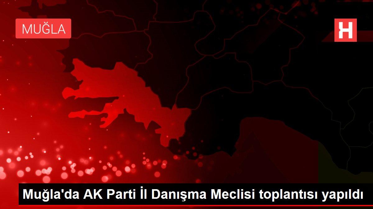 Muğla'da AK Parti İl Danışma Meclisi toplantısı yapıldı
