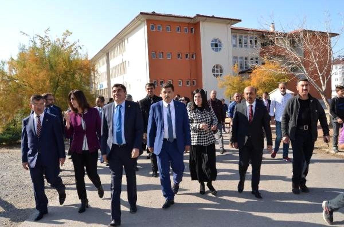 TBMM araştırma komisyonu, Aksaray'daki o okulda incelemede bulundu (2) - Yeniden
